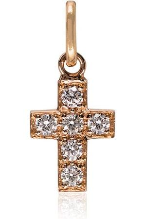GIGI CLOZEAU Cross 6 diamond charm
