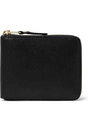 Comme des Garçons Heren Portemonnees - Zip-around Leather Wallet