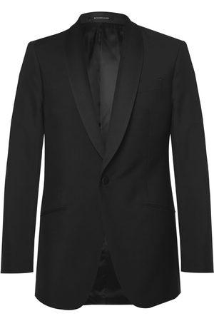 RICHARD JAMES Slim-fit Wool And Mohair-blend Tuxedo Jacket