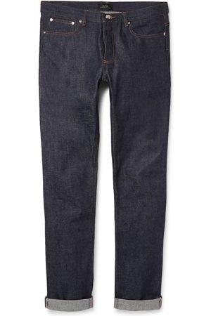 A.P.C Petit New Standard Skinny-fit Dry Selvedge Denim Jeans