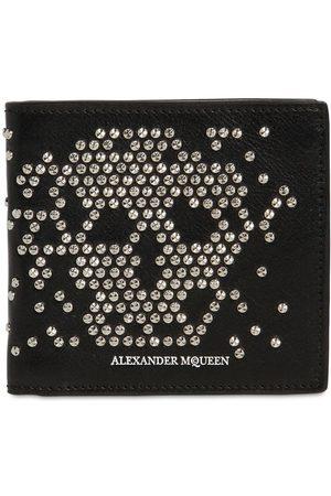 Alexander McQueen Heren Portemonnees - Studded Skull Classic Leather Wallet