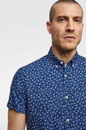 Zara Heren Hemden - Oxford overhemd met bloemenprint