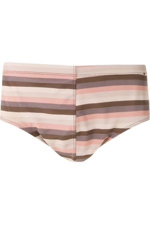 AMIR SLAMA Striped trunks