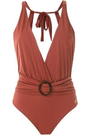 Brigitte Draped swimsuit