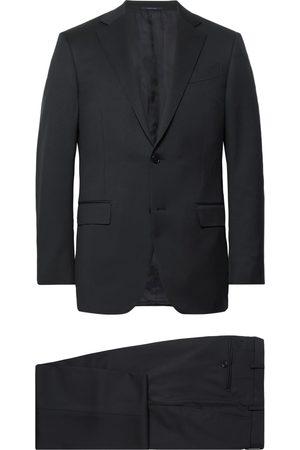 Ermenegildo Zegna Midnight- Slim-fit Wool-twill Suit