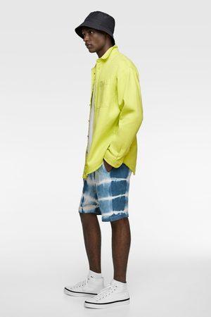 Zara Bermuda met tie-dye