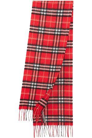 Burberry The Mini Classic Vintage Check cashmere scarf