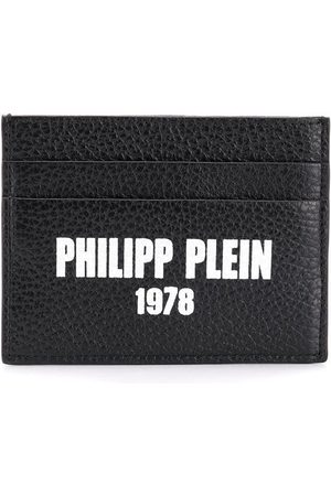 Philipp Plein Logo credit card holder