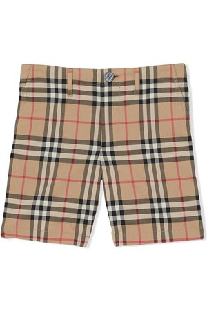 Burberry Signature check print shorts
