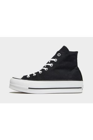 Converse All Star Lift High Platform Dames, Zwart
