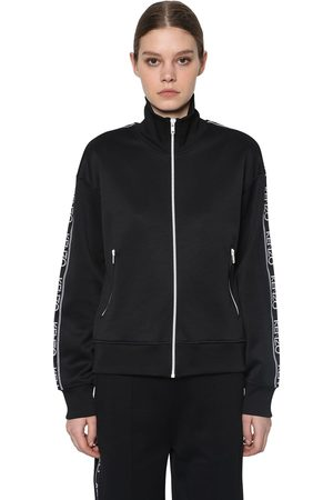 Kenzo Logo Side Band Tech Track Jacket