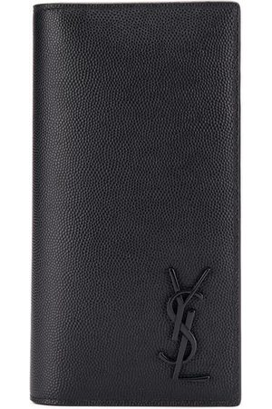 Saint Laurent Long logo appliqué wallet