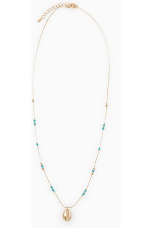 Zara Kettingen - Long seashell necklace