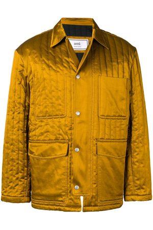 Ami Multipockets Zipped Jacket