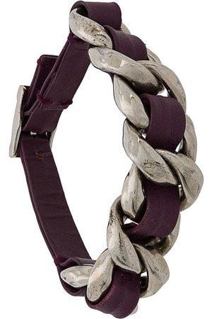 CHANEL 2002 woven detail bracelet