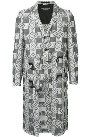 Comme des Garçons Floral pattern long coat