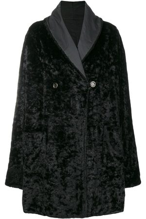 Fendi Fur effect boxy coat