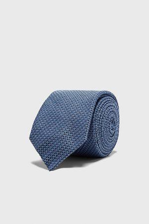 Zara Heren Stropdassen - Brede stropdas met structuur