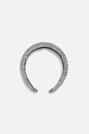 Zara Dames Haaraccessoires - Glanzende diadeem in limited edition