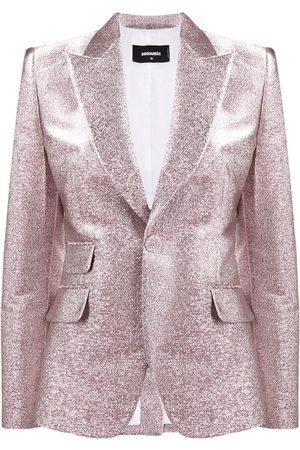 Dsquared2 Glitter single breasted blazer