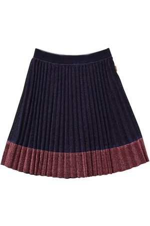 Marc Jacobs Meisjes Rokken - Pleated Lurex Skirt W/ Contrasting Hem