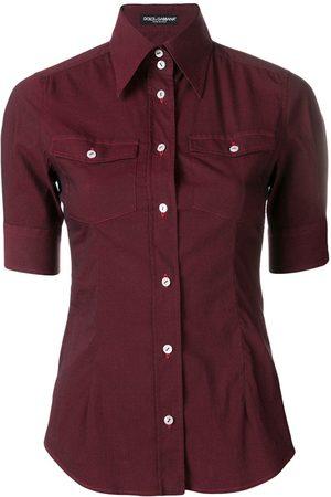 Dolce & Gabbana 1990's short-sleeves shirt