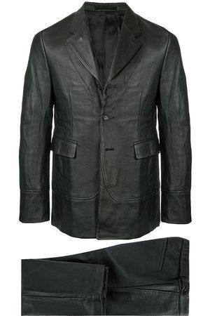 Comme des Garçons Leather effect two-piece suit