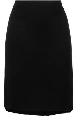 Jean Paul Gaultier 1990's back pleated skirt