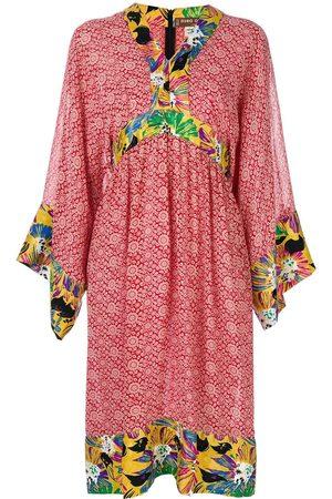 DURO OLOWU 2000 floral print tunic dress