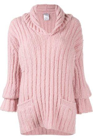 CHANEL Ribbed knit jumper