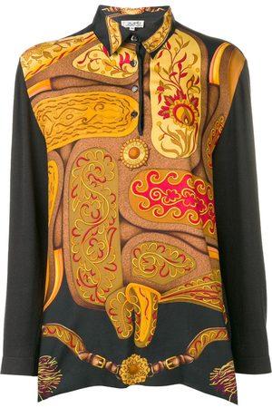 Hermès Abstract longsleeved polo shirt