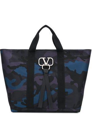 VALENTINO Garavani VRING camouflage tote