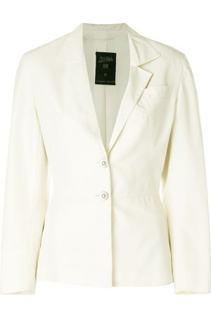 Jean Paul Gaultier Cropped-sleeve fitted jacket