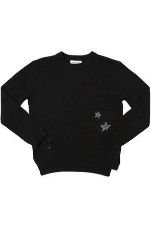Zadig & Voltaire Meisjes Sweaters - Embellished Wool Blend Knit Sweater
