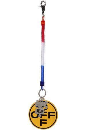 OFF-WHITE Heren Ringen - Off Cross Bungee Key Ring