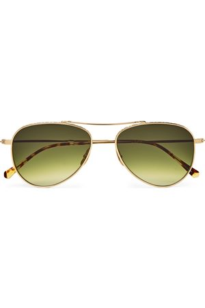 Mr. Leight Ichi S Aviator-style -tone Sunglasses