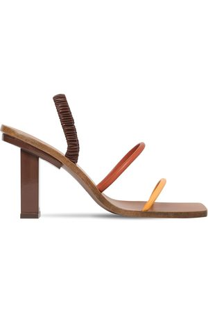 Cult Gaia 70mm Kaia Leather Sandals