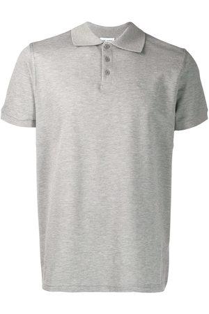 Saint Laurent Embroidered monogram polo shirt