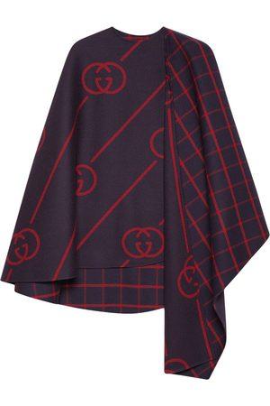 Gucci GG wool cape