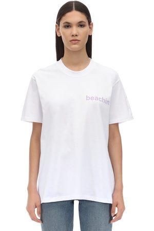 Natasha Zinko Printed Cotton T-shirt