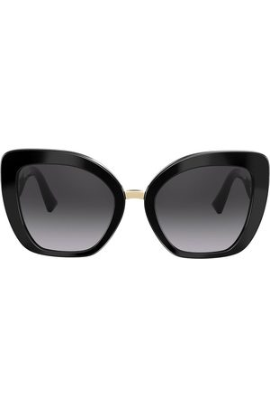 VALENTINO Cat eye frames V logo sunglasses