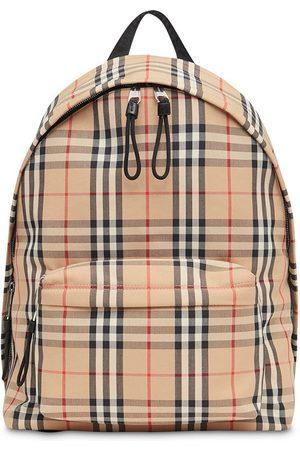 Burberry Vintage Check Nylon Backpack