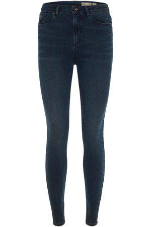 Vero Moda High Waist Skinny Jeans Dames Black; Blue