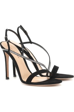 Gianvito Rossi Exclusive to Mytheresa – Manhattan 105 suede sandals