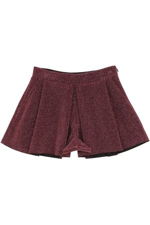 VIVETTA Techno Lurex Shorts
