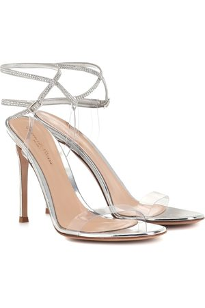 Gianvito Rossi Exclusive to Mytheresa – 105 embellished leather sandals