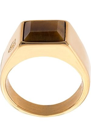 Nialaya Heren Ringen - Oversized square ring