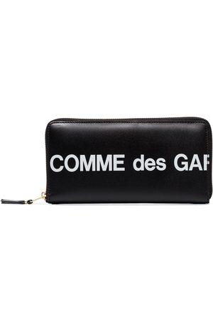 Comme des Garçons Logo-print continental wallet