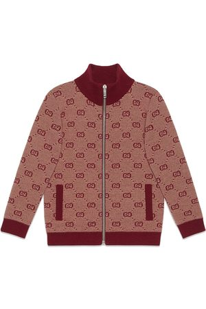 Gucci GG zip front cardigan