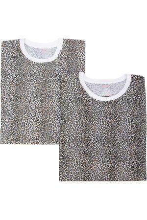 Supreme Leopard print T-shirt